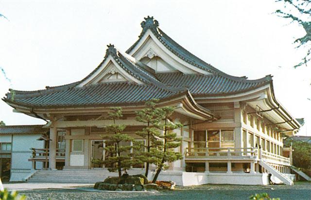 天理教浦生大教会神殿新築工事/滋賀県