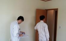 先日一宮市内某所にて木造戸建て住宅の社内検査を行いました。