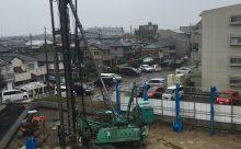 豊田市で鉄筋コンクリート造賃貸マンションを建設中