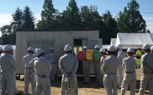 平成29年度 一宮市総合防災訓練に参加をしました。②