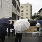 お引渡 in the rain♪