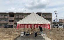 愛知県一宮市にてRC造賃貸マンションを施工しています